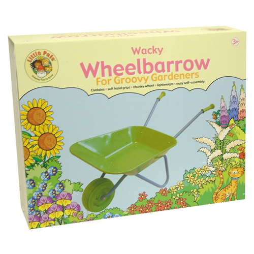 childrens wheelbarrow box