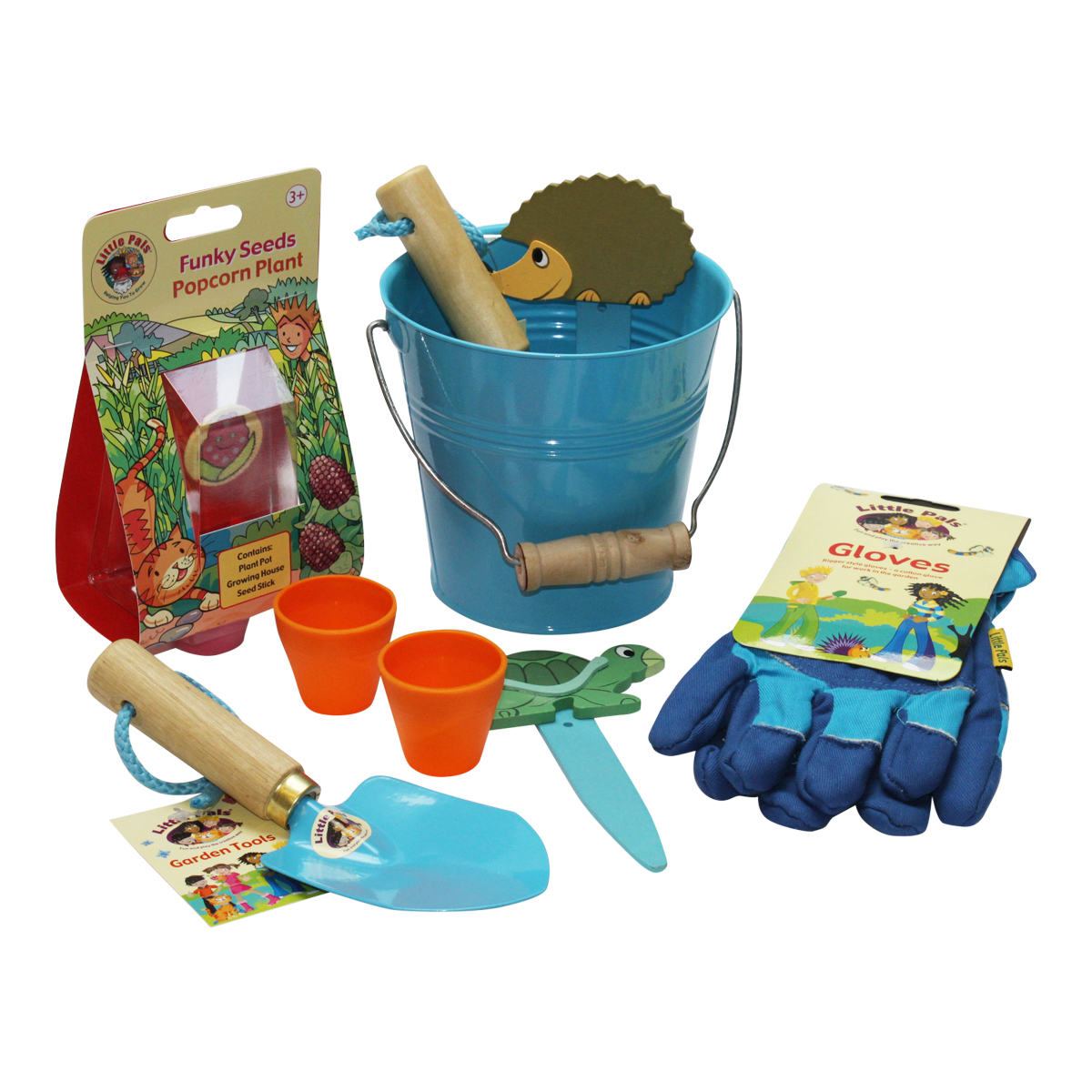 Bucket of Fun Gardening Kit, Blue