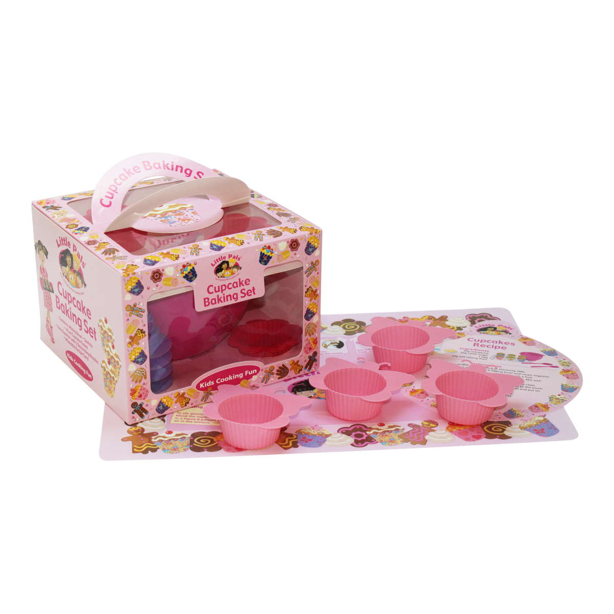 childrens cupcake baking set