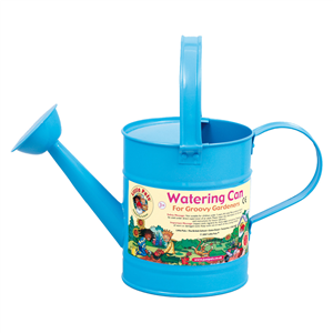 watering can set, blue can