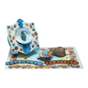 childrens baking starter set blue