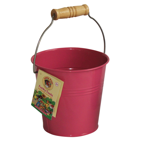childrens pink bucket