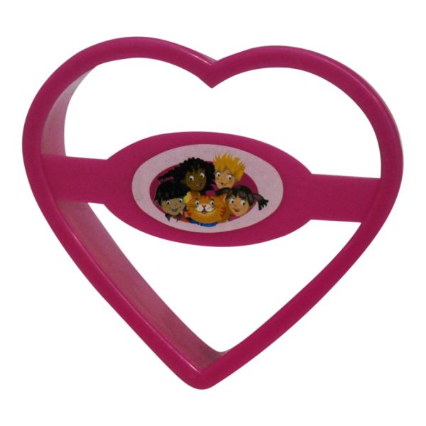 childrens cookie baking set heart cutter