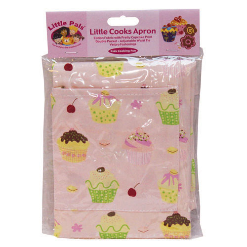 little cooks apron pink, packed