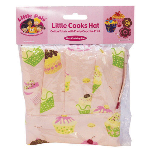 little cooks hat, pink, packed
