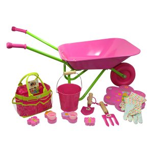 Junior Garden Kit Wheelbarrow