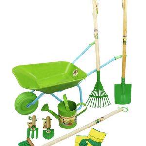 Garden Tools Set Green