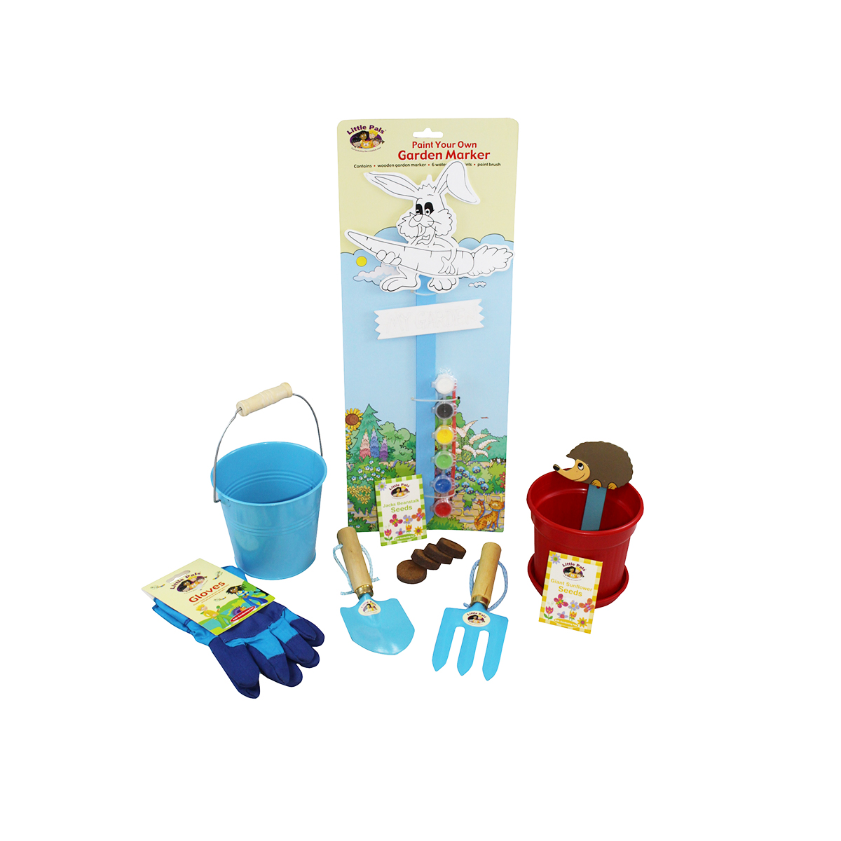 Childrens Garden and Growing Fun Set Blue