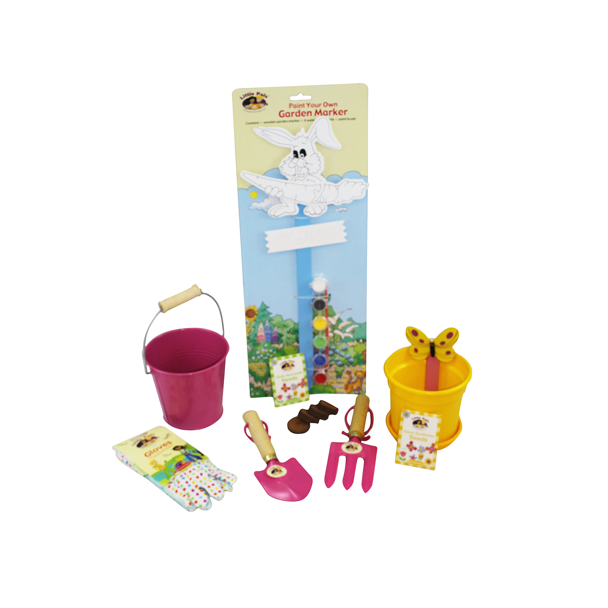 Children's Gardening Fun Set, Pink