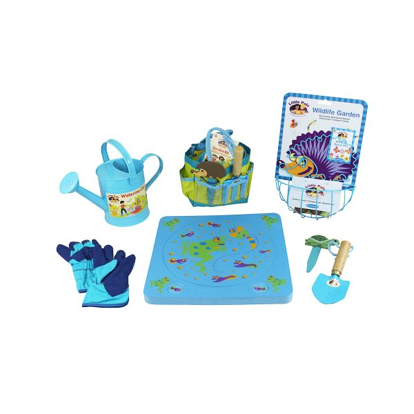 Childrens Gardening and Watering Can Set