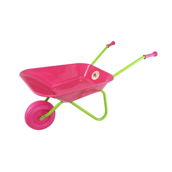 Childrens Wheelbarrow Pink