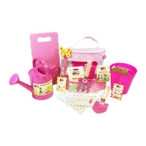 childrens gardening and growing set