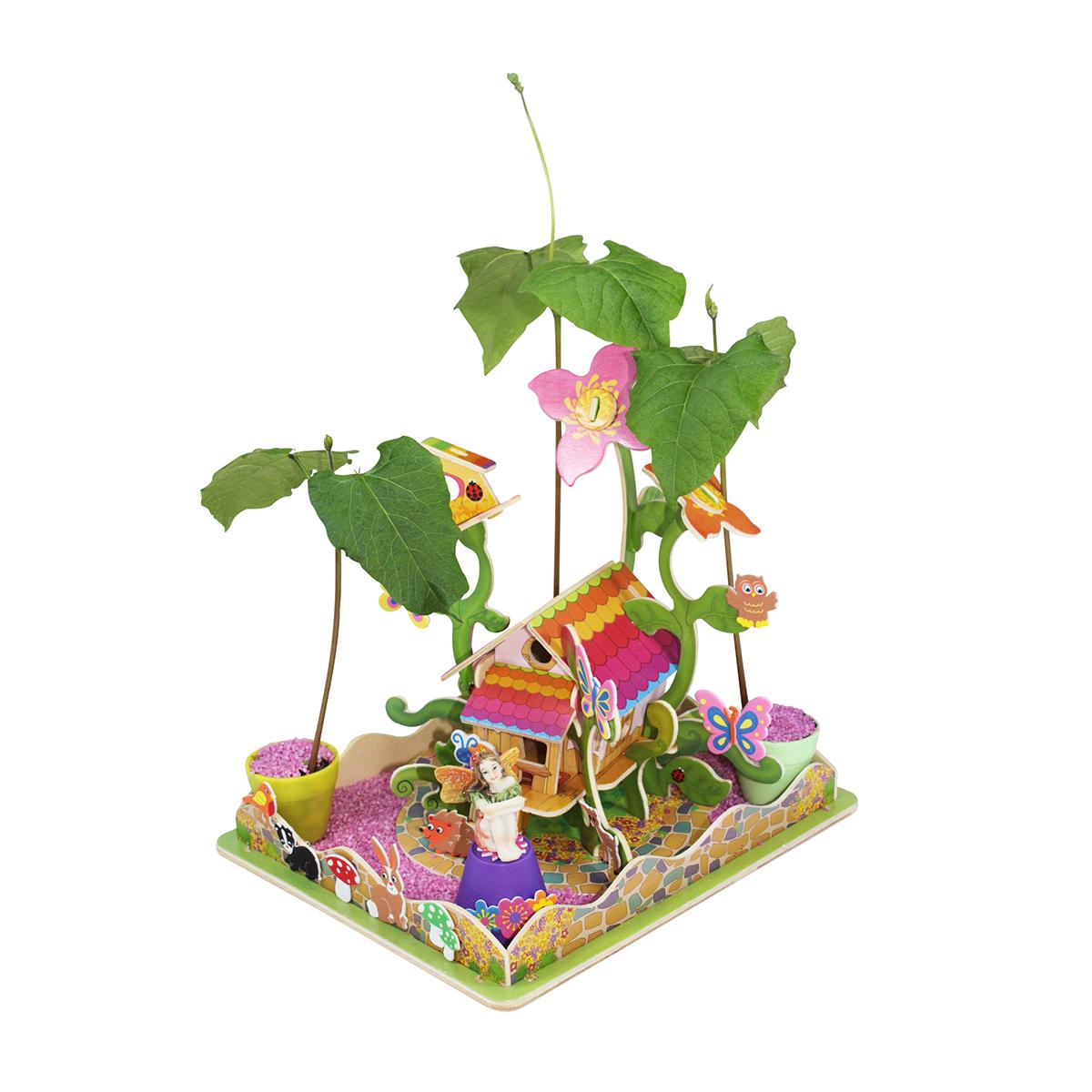 Create Your Own Fairy Garden Flower House • Little Pals