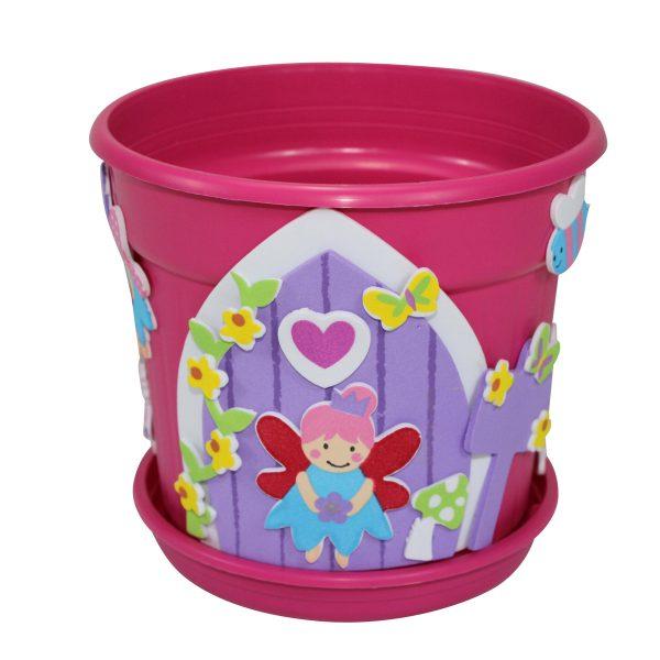 fairy door flower pot