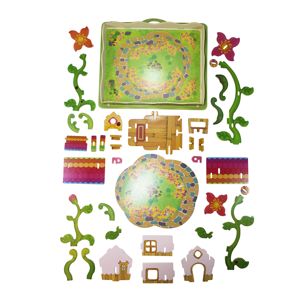 Create your own fairy garden and flower house little pals for Design your own home landscape