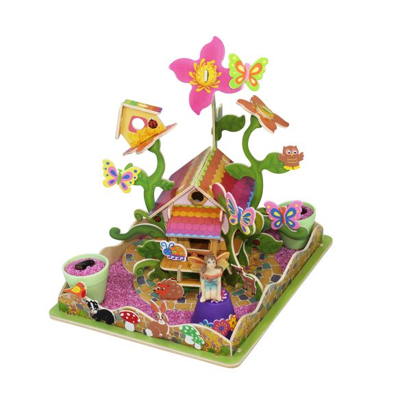 Fairy Garden and Flower House