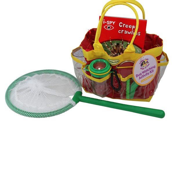 childrens bug watching kit packed in bag