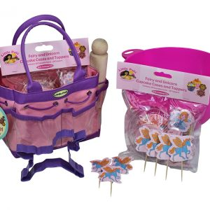 unicorn and fairy baking set