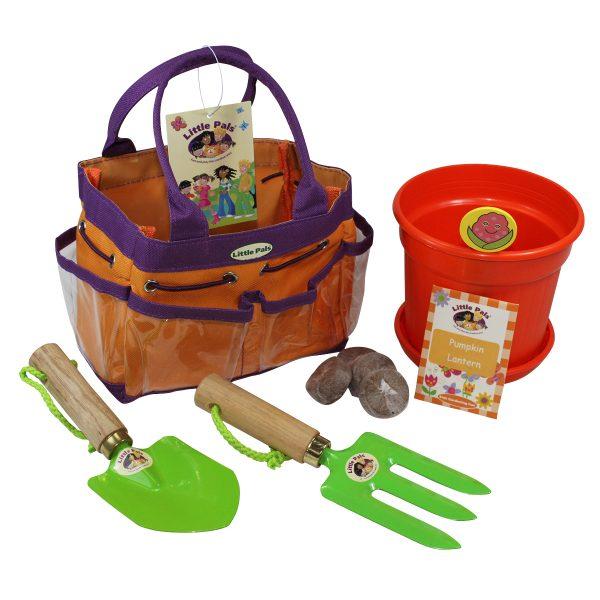 Pumpkin Lantern Gardening Set 1