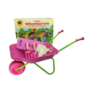 Wheelbarrow and Tool Set Pink