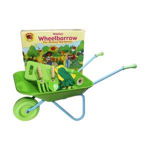 Wheelbarrow and Tools