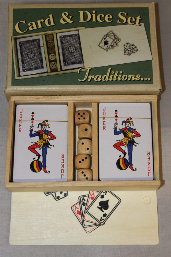 card and dice